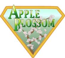 Apple Blossom Logo